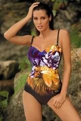 Costum de baie Caitlyn Nero-Bright Violet M-370