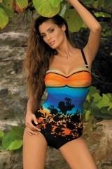 Costum de baie Ingrid Nero-Incas M-381