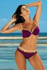 Costum de baie Nathalie Magenta Purple M-391 (19)
