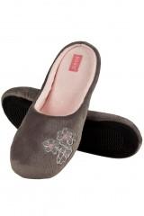Papuci de casa cu broderie Soxo 31975