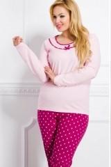 Pijama de dama Ismena 1042 2XL-3XL