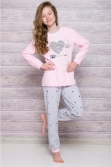 Pijama adolescente Elza 1154